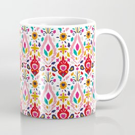 Spring Brights Floral Happy Pattern Coffee Mug