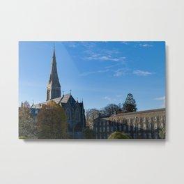Church spire in Ireland Metal Print