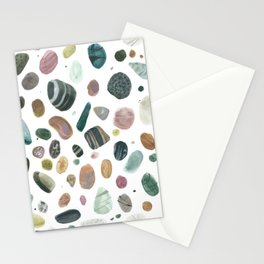 Pebbles and pearls Stationery Cards