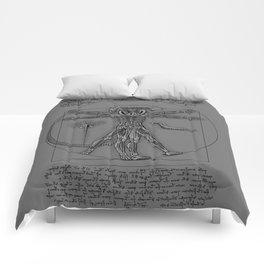 Vitruvian Alien Comforters