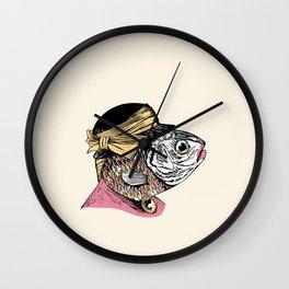 Mrs. Fish Wall Clock