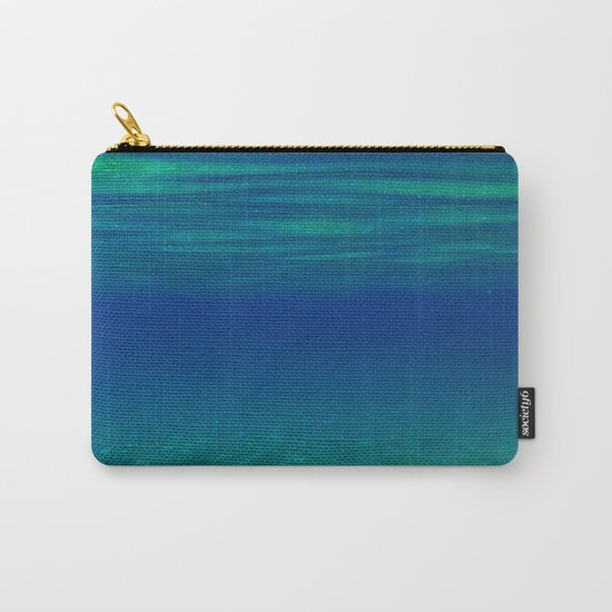 UNDERWATER RIPPLE Carry-All Pouch