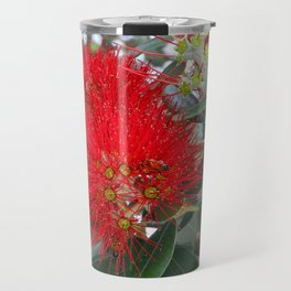 Red Flowering Gum Tree Travel Mug