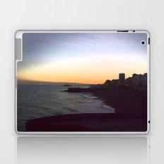 Seafront sunset Laptop & iPad Skin