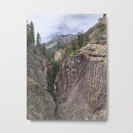Misty Mountain Melody Metal Print
