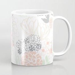 Cucumber Peaches and Cream Mason Jar wedding Coffee Mug