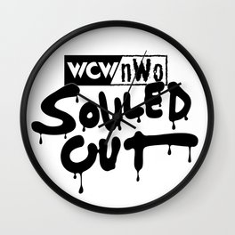 Souled Out Wall Clock