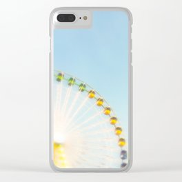"""""""by the big wheel generator"""" Clear iPhone Case"""