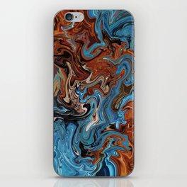 Slow Burn iPhone Skin