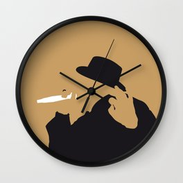 No080 MY Notorious BIG Minimal Music poster Wall Clock