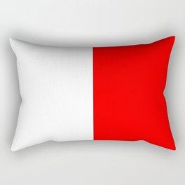 International maritime signal flag sea alphabet collection letter h Rectangular Pillow