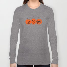 Halloween Magic- Turquoise Long Sleeve T-shirt