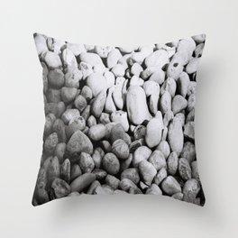 pile of rocks Throw Pillow