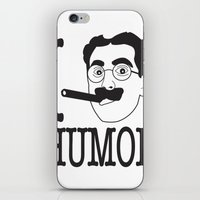 humor iPhone & iPod Skins featuring I __ Humor by senioritis