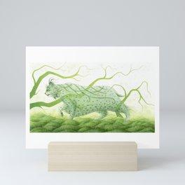 The West Wind Mini Art Print