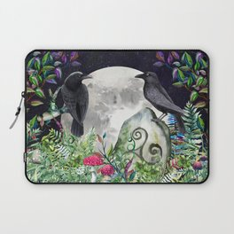 Raven Moon Magick Laptop Sleeve