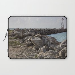 Lighthouse at sunset  Laptop Sleeve