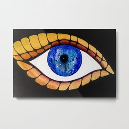 The Global Butterfly Metal Print