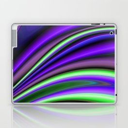 Abstract Fractal Colorways 01PL Laptop & iPad Skin