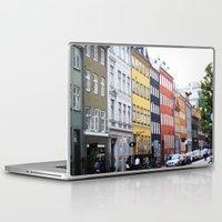 copenhagen Laptop & iPad Skins featuring Copenhagen by Anya Kubilus