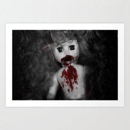 Smallest Zombie Art Print