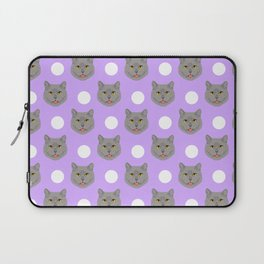 Kai - British shorthair cat gifts for cat lovers and cat lady gifts.  Cat people gifts Laptop Sleeve
