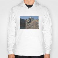 buildings Hoodies featuring NYC Buildings by johntrif