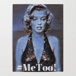 #Metoo Marilyn Poster