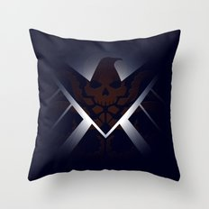 Hidden HYDRA – S.H.I.E.L.D. Logo Sans Wording Throw Pillow