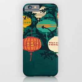 Lanterns iPhone Case