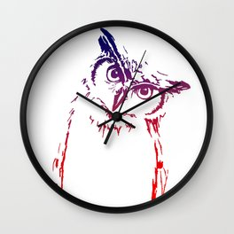 Mighty Owl Wall Clock