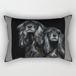 Sammy and Cloe Rectangular Pillow