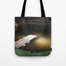 Crossing the Threshold between Life and Death Tote Bag