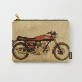 vintage moto ducat orange original gift for motorcycles lovers Carry-All Pouch