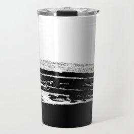 abstract b&w Travel Mug