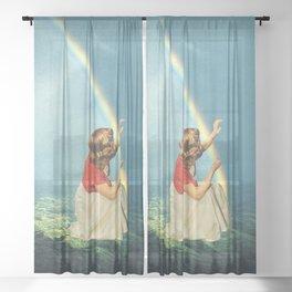 Dimensions Sheer Curtain