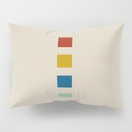 four elements || tweed & primary colors Pillow Sham