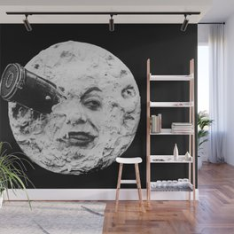 A Trip to the Moon 1902 - Artwork for Wall Art, Prints, Posters, Tshirts, Men Women Kids Wall Mural