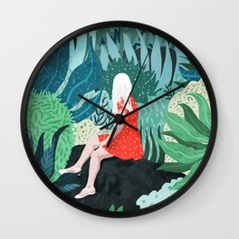 Forest Gaze Wall Clock