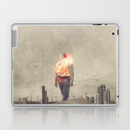 These cities burned my soul Laptop & iPad Skin