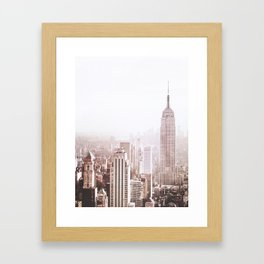 New York City Late Afternoon Framed Art Print