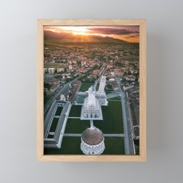 In search of Sunrise Framed Mini Art Print