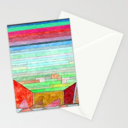 Paul Klee View into Fertile Country Stationery Cards
