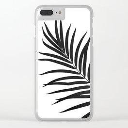 Tropical Palm Leaf #1 #botanical #decor #art #society6 Clear iPhone Case
