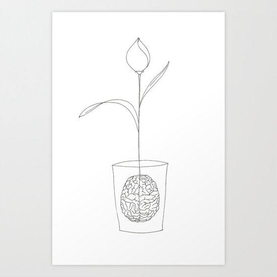 a new idea Art Print