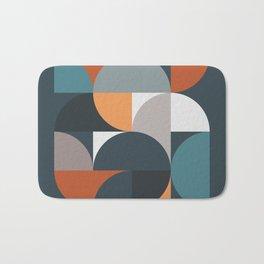Mid Century Geometric 11/2 Bath Mat