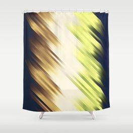 stripes wave pattern 7v1 fn Shower Curtain