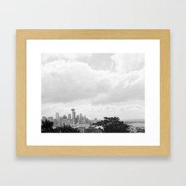 Seattle Days Framed Art Print