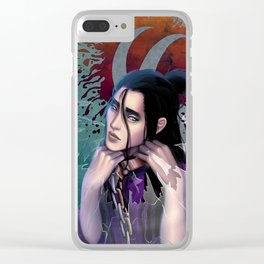 The cell I live in is in my mind Clear iPhone Case