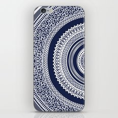 Denim Mandala iPhone Skin